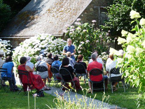 Conférence sur les hortensias par Ronan Garin