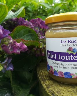 Miel Le rucher des hortensias