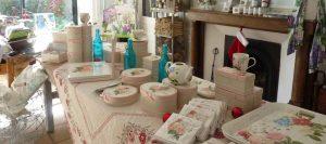 La boutique sur le thème des hortensias