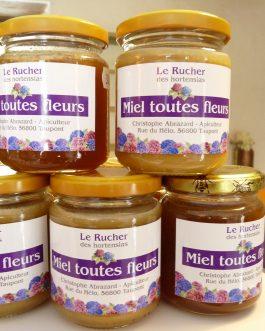 """Miel de la pépinière """"Le rucher des hortensias"""""""